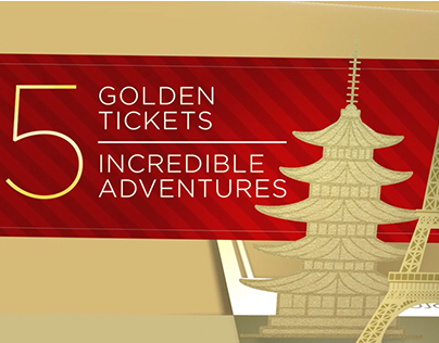 Golden Ticket Giveaway :15 3D Animation