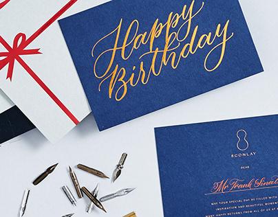 8 Conlay Birthday Cards