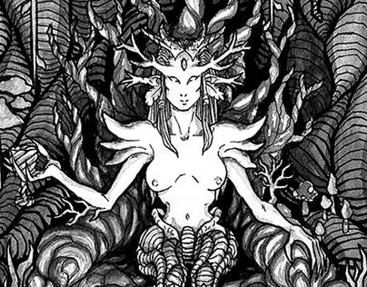 R Cariri Gênese - Ilustrações