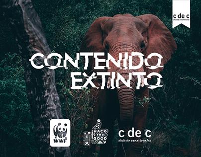 WWF - Contenido Extinto | Club de Creativos