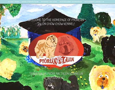 Pyöreän Talon Chow Chow kennel website.