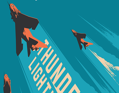 THUNDER AND LIGHTNINGS Book Cover for Puffin