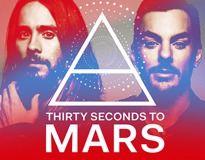 THIRTY SECONDS TO MARS — New Website 2021
