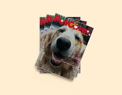 Projeto Gráfico - Estudo - Revista Petcare