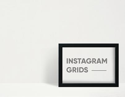 Diseño Instagram Grids
