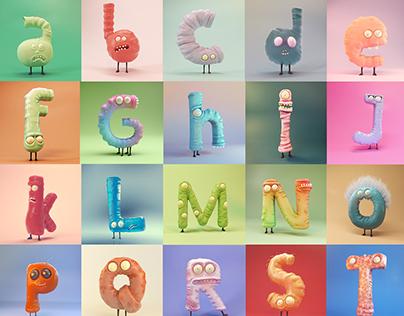 Little Monsters Alphabet