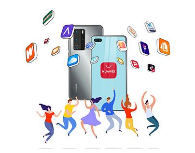 Key Visual AppGallery Huawei