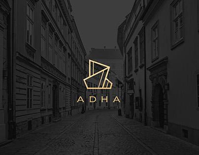 ADHA - real estate, advisory, investment - branding