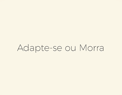 Adapte-se ou Morra 2