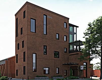 Loft apartments in Bread factory