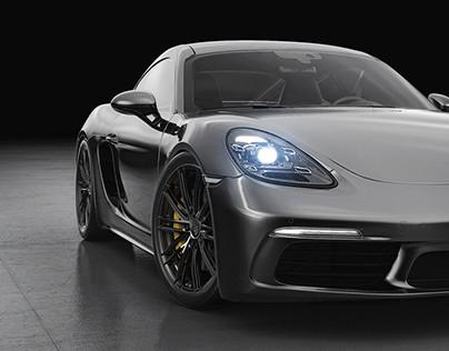Porsche Cayman S Studio shoots