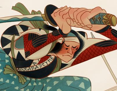 Tribute to Utagawa Kuniyoshi