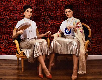 Las Dos Fridas--Lara Karadogan + Sofia Karadogan