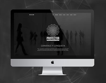 Website - Proyector: Public Image Agency