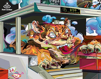 Foot Locker - Hongdae