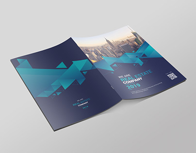 Business Brochure A4 Indesign Template