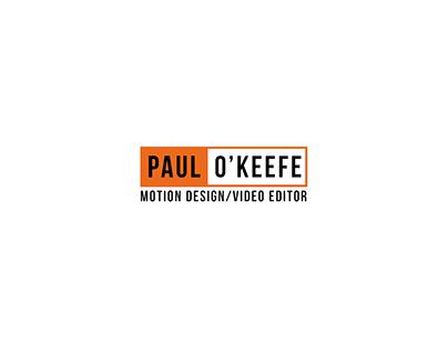 Paul O'Keefe Showreel 2019