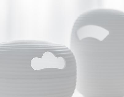 Japanese lantern canister