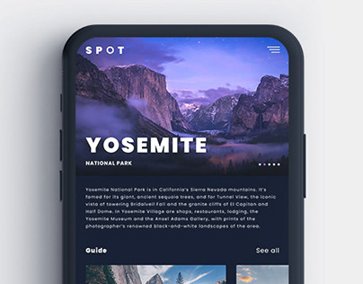 SPOT - A photography guide app