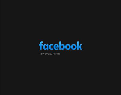 Facebook new look - Refine