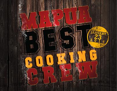 Mapúa Best Cooking Crew Poster