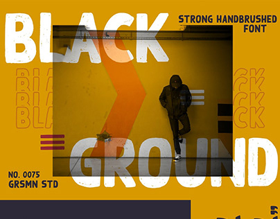 Free Black Ground Display Font
