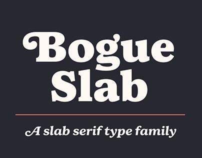 Bogue Slab Font Family