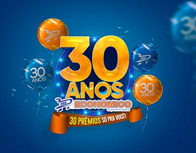 30 ANOS ECONÔMICO