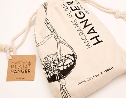 Gift range packaging for Glassons
