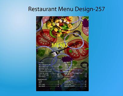 Restaurant Menu Design-257