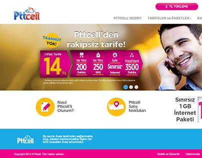 Pttcell Web Site Design