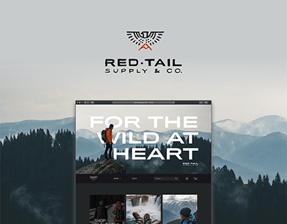 Red Tail Supply & Co: Branding & Web Design
