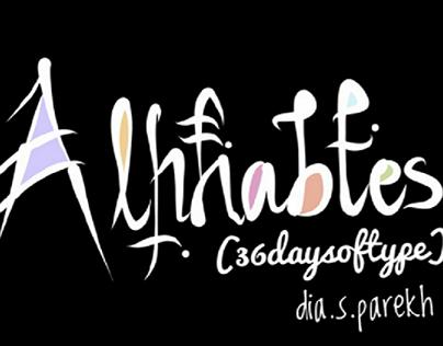 36days of  Type (ALPHABETS)