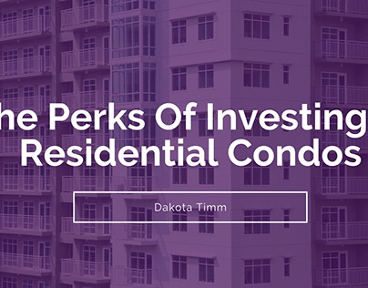 The Perks Of Investing In Residential Condos