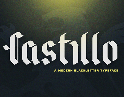 CASTILLO - FREE DISPLAY FONT