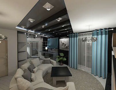 Video presentation projects of interior