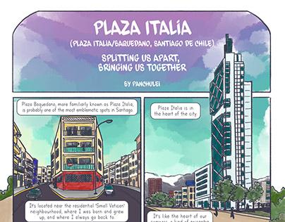 Plaza Italia - The Guardian (septiembre 2019)