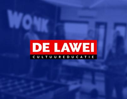 De Lawei - Brochure & website ontwerp