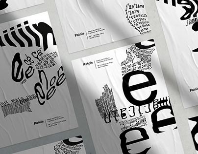 Patois - Typographic posters