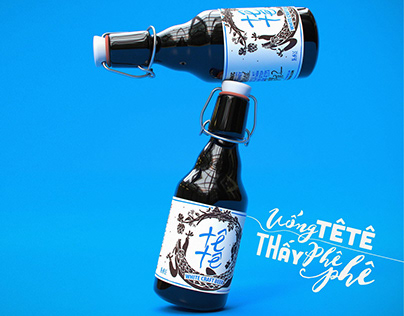 Tê Tê Craft Beer Branding Design