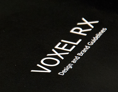 Voxel Rx, Brand Manual