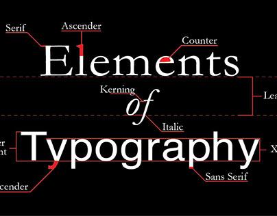 Elements of Typography