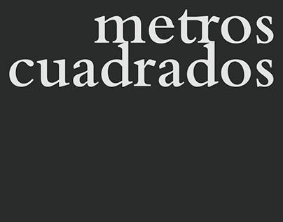 """""""Metros Cuadrados"""" - Diseño editorial"""