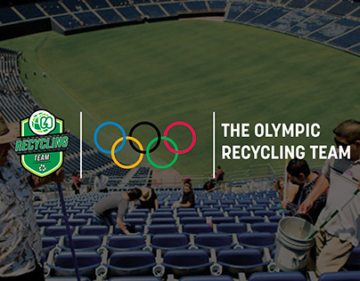 THE OLYMPIC RECYCLING TEAM