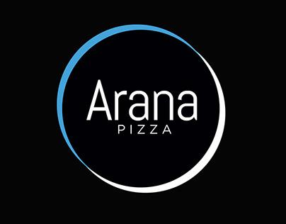 Arana Catering/Pizza Logo Design