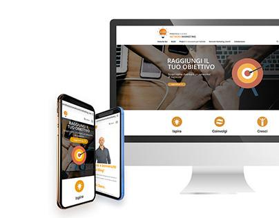 Professione Network Marketing - Logo + SitoWeb + Social