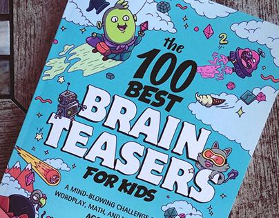 The 100 Best Brain Teasers Illustration