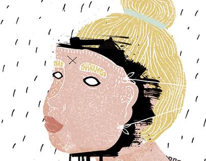 mascarade - illustration