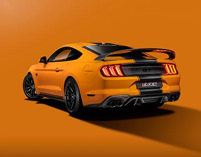 Orange Fury - MAPs 850bhp Mustang