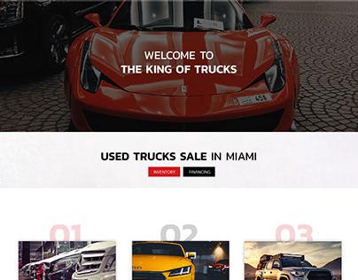 The King of Trucks Website
